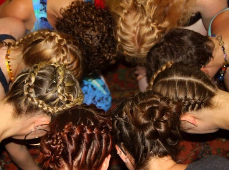 hair braiding blessingway