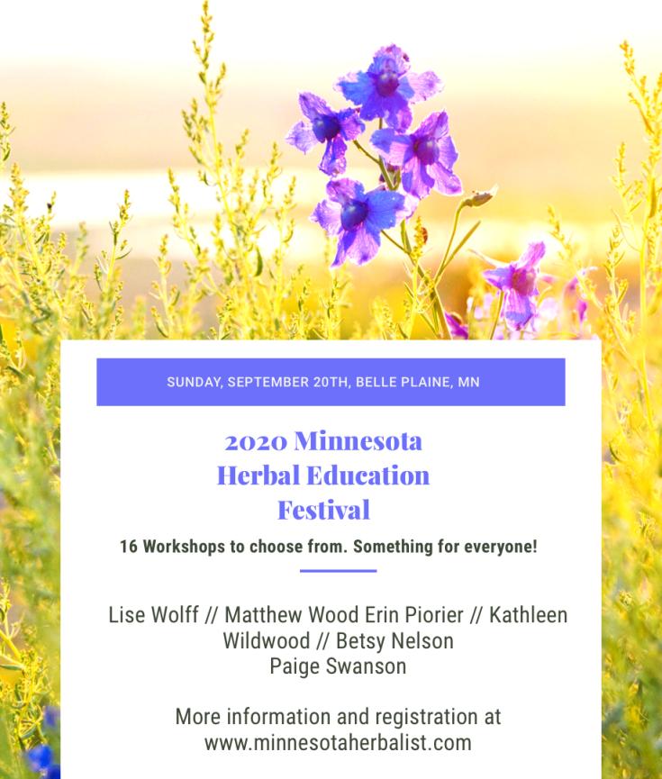 2020 minnesota herbal festival
